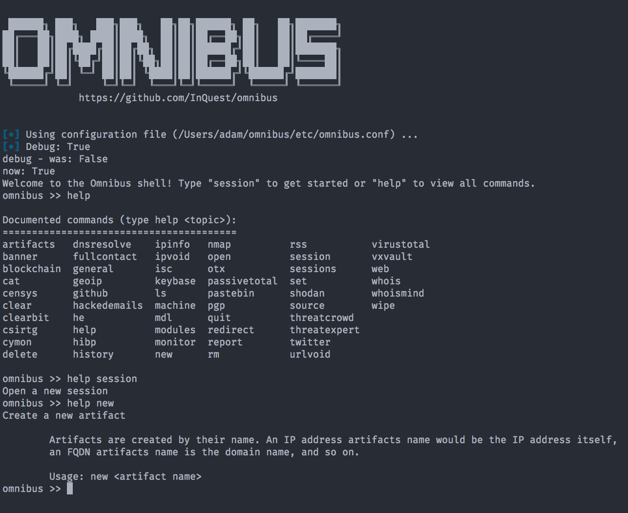 Omnibus: Automating OSINT Collection | InQuest